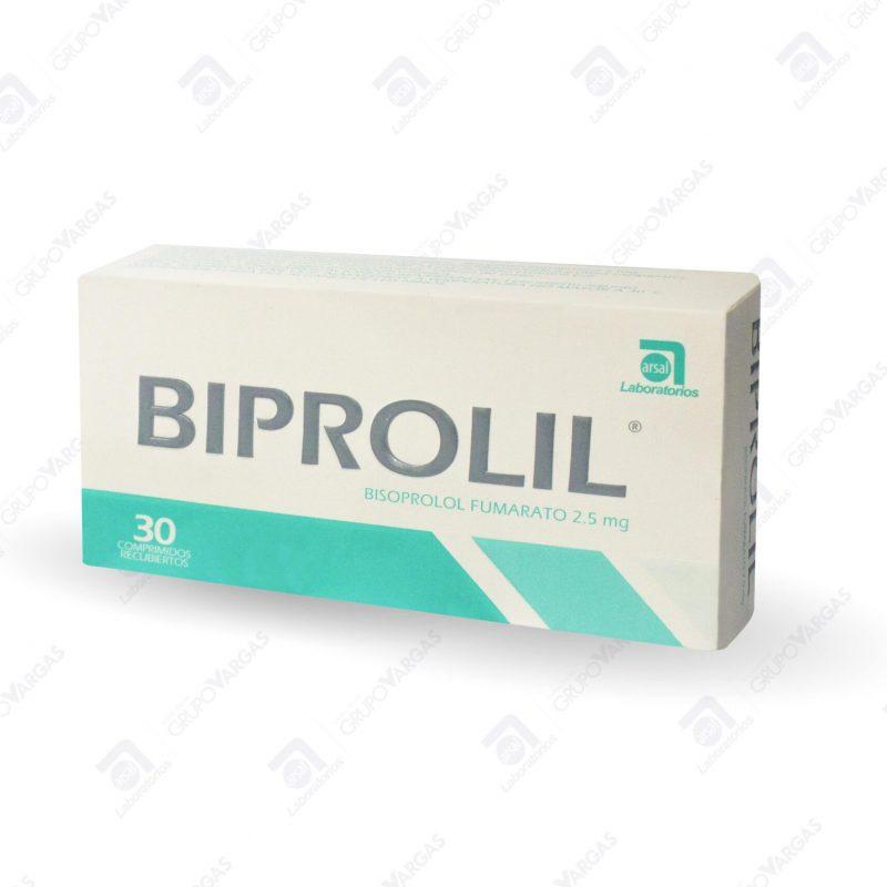 Biprolil® 2.5mg x 30 comprimidos recubiertos