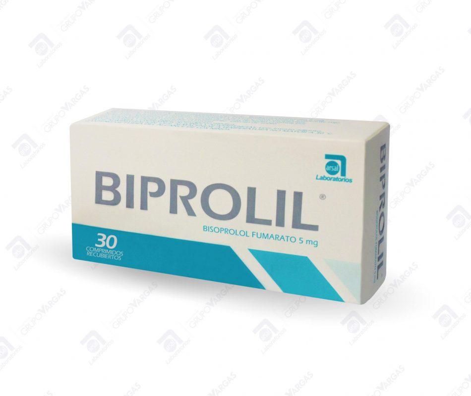 Biprolil® 5mg x 30 comprimidos recubiertos