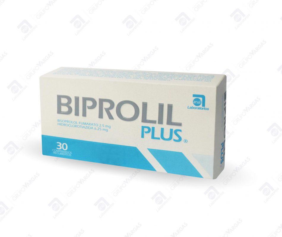 Biprolil Plus® 2.5mg/6.25mg x 30 comprimidos recubiertos