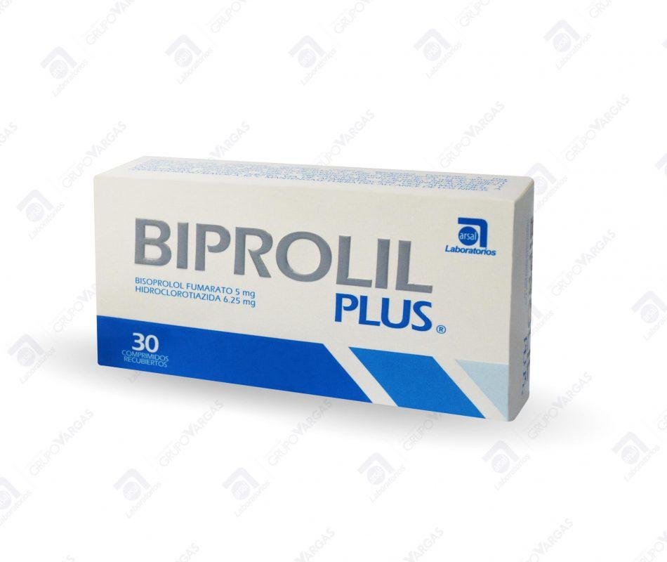 Biprolil Plus® 5mg/6.25mg x 30 comprimidos recubiertos
